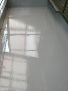 京都府京都市でベランダ防水塗装工事